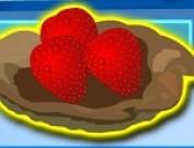 العاب طبخ شطيرة الفراولة
