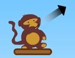 لعبة القرد و البالونات