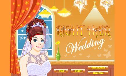 العاب قص شعر العروس للزفاف