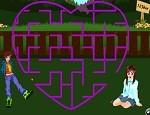 لعبة متاهة الحب