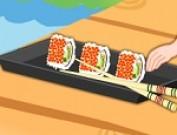 لعبة طبخ السوشي في كاليفورنيا