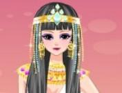 لعبة تلبيس اميرة مصرية