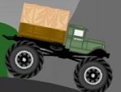 لعبة شاحنة الجيش في الادغال