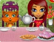 لعبة تقديم الشاي للضيوف