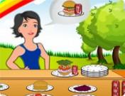 لعبة مطعم البرجر المنوع