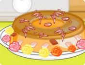 لعبة طبخ حلى كريم كراميل