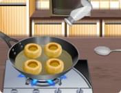 لعبة طبخ الفطر المحشي