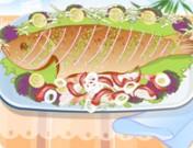 لعبة تزيين طبق السمك