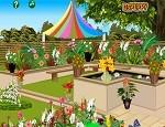 لعبة ترتيب حديقة الزهور