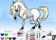 لعبة تلبيس الحصان