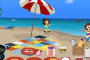 العاب طبخ الفطائر على الشاطئ