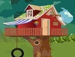 لعبة ترتيب بيت الشجرة