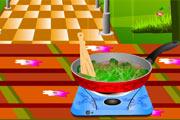 لعبة طبخ اللحم بالقرنبيط