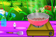 لعبة طبخ السلطعون