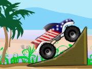 لعبة السيارة الامريكية السريعة