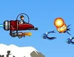 لعبة حرب طائرات بن تن