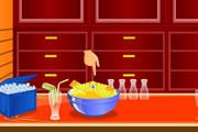 لعبة صنع عصير الفواكه المشكلة