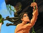 لعبة تلوين طرزان و اصدقائه في الغابة