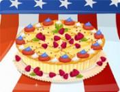 لعبة تزيين فطيرة التفاح الامريكية