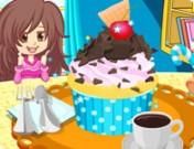 لعبة تزيين اكواب الكعك