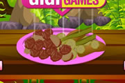 لعبة طبخ و شوي اللحم الياباني