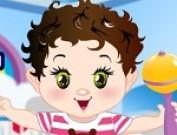 لعبة تلبيس طفل صغير كيوت