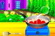 لعبة طبخ دجاج تيكا الهندي الجديدة