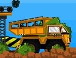 لعبة شاحنة نقل الصخور الغاضبة