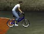 لعبة استعراض دراجات هوائية
