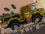 لعبة شاحنة نقل ذخيرة الجيش