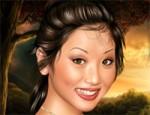 لعبة مكياج الممثلة الصينية بريندا سونغ