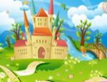 لعبة ترتيب ديكور القلعة