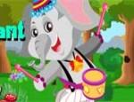 لعبة تلبيس الفيل