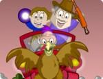 لعبة تلوين مطاردين الدجاج