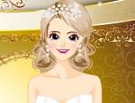 تلبيس العروسة السعيدة الجديدة
